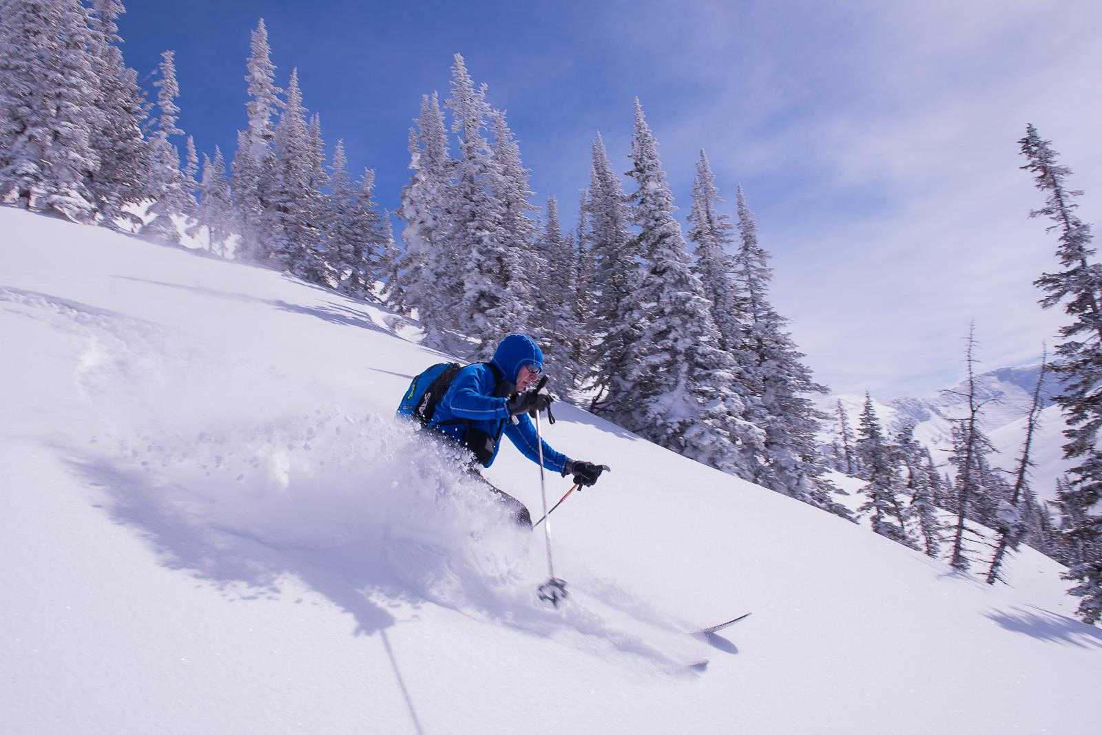 The Boreas Pullover, my go-to top for backcountry skiing.