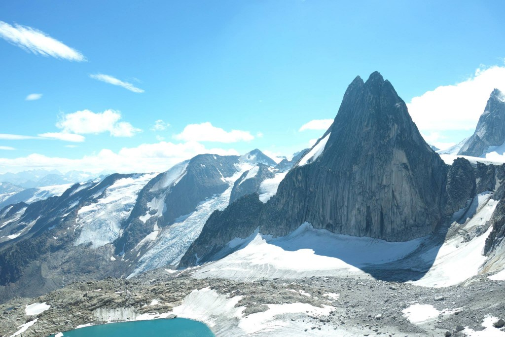 Snowpatch Spire, viewed from McTech Arete