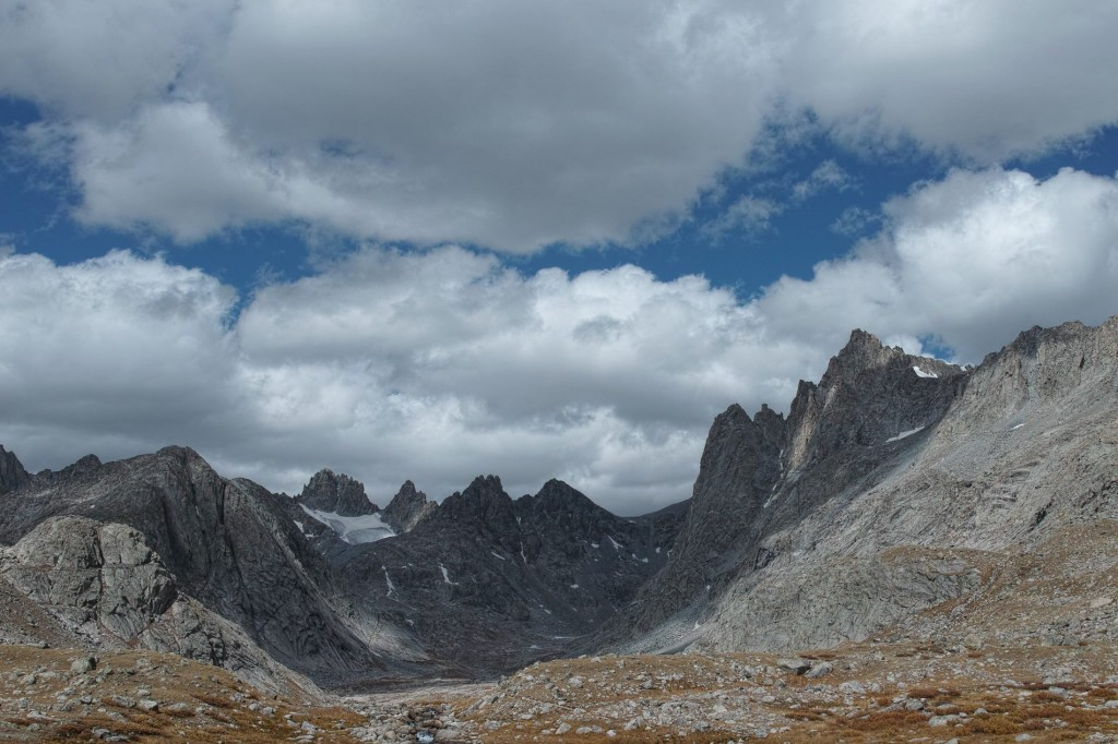 Titcomb Basin, Tower 1 on the right