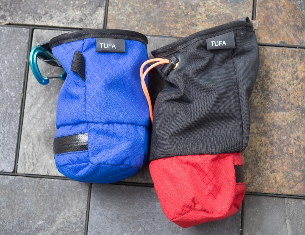 "Regular and ""Alpine"" Houdini Chalk Bags"