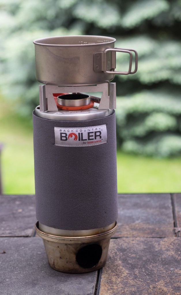 Backcountry Boiler with Pot Stand