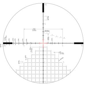 Kahles AMR Reticle