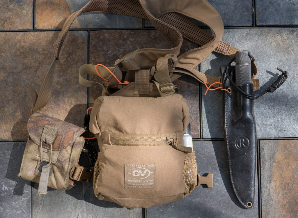 Outdoor Vision Bino Harness with FHF rangefinder pouch